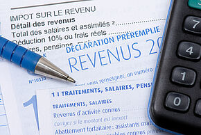 French income tax return